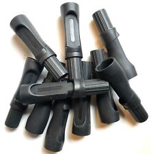 Lot Of 10 Graphite Spinning Rod Handles For Rod Builing Or Repair