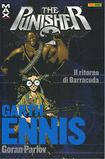 PUNISHER IL RITORNO DI BARRACUDA GARTH ENNIS COLLECTION N 14 GORAN PARLOV