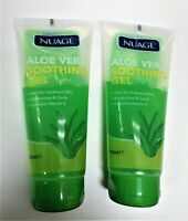 Nuage Aloe Vera Soothing After Sun Gel with Vitamin E x 2