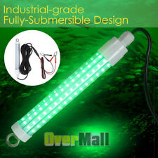 10 Watts 20000 Lumens 12v Led Green Underwater Fishing Light Lamp Fish Attract