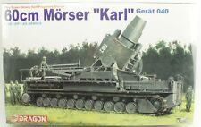 WWII 60cm Morser Karl Gerat 040 Dragon Military Model Kit 1:35