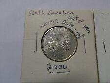 2000 P South Carolina State Quarter Error Coin