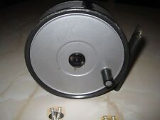 VINTAGE Hardy Brothers 4 3/8 HYDRA Salmone Fly Reel con Linea