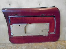 1979 Buick ELECTRA interior DOOR PANEL 79 4 dr.sedan Left Front  77 78 1977 ?