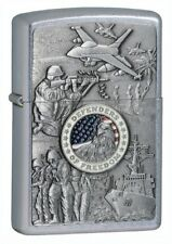 Zippo ZO24457 Joined Forces Defenders of Freedom Classic Windproof Lighter