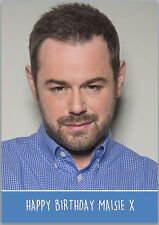 Danny Dyer Birthday Card Personalised with any wording