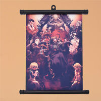 Japanese Anime Overlord Poster Wall Home Hanging Decoration Scroll Painting Gift