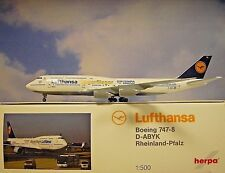 Herpa Wings 1:500 Boeing 747-8 Lufthansa D-Abyk 530026 Modellairport500