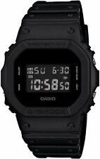 Casio G-SHOCK DW-5600BB-1, черные смолы цифровые мужские часы