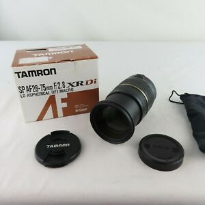 TAMRON zoom lens SP AF28-75mm F2.8 DI MACRO 1:1 for Canon Aspherical