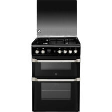 Indesit ID60G2K Advance Free Standing Gas Cooker with Gas Hob 60cm Black New