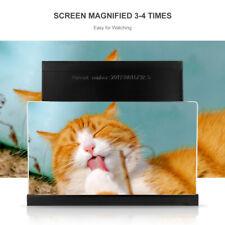 """12"""" Teléfono Móvil Pantalla Lupa 3D Amplificador de Vídeo HD Soporte de Teléfono"""