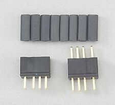 WS Deans Micro 4r 4 Pin Connector Black Wsd1241