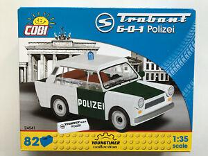 COBI Bausteine 24541, Trabant 601 Polizei, 82 Teile, Bausatz Maßstab 1:35