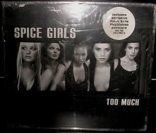 SPICE GIRLS TOO MUCH U,K CD 1 SINGLE SEALED OUTER SPACE GIRLS