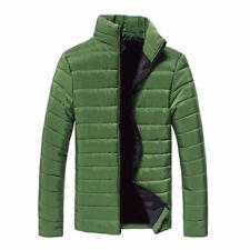 Mens Winter Hooded Thick Padded Jacket Zipper Slim Stylish Outwear Coat Warm