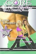 Core Rhythms Latin Cardio BLAST dance workout Exercise Fitness Weight drop DVD