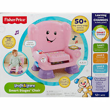 Fisher Price Laugh & Learn Smart Stages Chair PINK ~ BRAND NEW NIB ~ 50+ SONGS