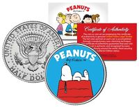 Peanuts SNOOPY DOG HOUSE JFK Kennedy Half Dollar U.S. Coin - OFFICIALLY LICENSED