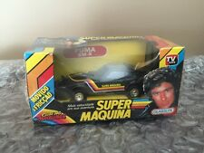 Glasslite 1982 Knight Rider Michael Knight Super Maquina  RARE David Hasselhoff