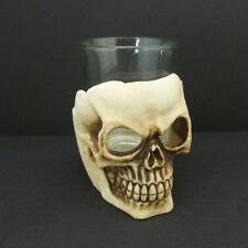 Skull Shot Glass Barware Jigger Shooter Halloween Party Gothic Skull Head