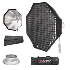 90cm Octagon easy open softbox ombrello 4cm Griglia Bowens S-Type raccordo Octabox
