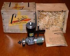 1946 Contestor 60 ignition model airplane engine box vintage spark 10cc .60 CL