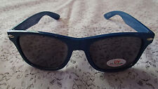 PINNACLE Vodka Promo Retro UV Eye Protection Sunglasses BLUE~DRINK RESPONSIBLY