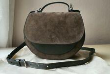 COCCINELLE Echtleder- Veloursleder Tasche Minibag Crossbody  in Khaki Neu
