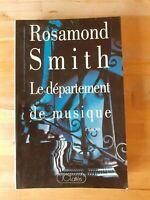 Le département de musique - Rosamond Smith - JC Lattès