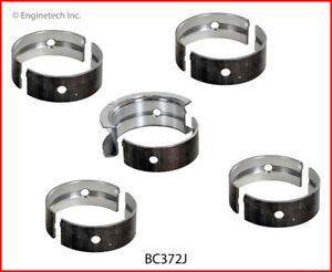 Enginetech Crankshaft Main Bearing Set BC372J.25