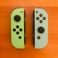 Joycon Nintendo Switch - Celeste e verde - Animal Crossing new Horizons