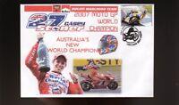 CASEY STONER 2007 AUST MOTO GP WORLD CHAMPION COVER 2