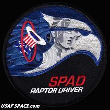 USAF 94TH FIGHTER SQ - F-22 SPAD RAPTOR DRIVER -Langley AFB, VA- ORIGINAL PATCH