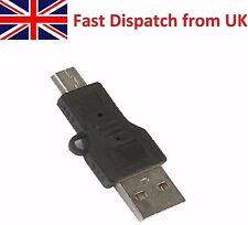 Standard USB Type A to Mini Type B Male to Male Converter Adapter USB Mini USB
