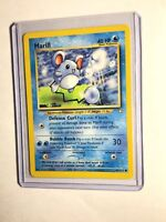 MARILL - Neo Genesis Set - 66/111 - Common - Pokemon Card - Unlimited - NM