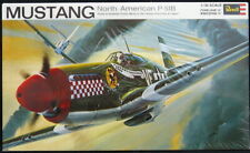 1969 Revell Models 1/32 NORTH AMERICAN P-51B MUSTANG Fighter