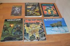 BATTLETECH & BATTLELORDS FIELD MANUALS Lot of 6 Books & Booklet