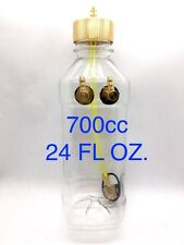 700ml (cc) 24oz Clear Fuel Tank With Metal Cap for RC Airplane Gasoline Engine