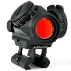 AT3 Tactical RD-50 PRO Red Dot Reflex Sight with Picatinny Riser Mount