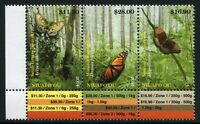 Niuafo'ou 2014 Schmetterlinge Butterflies Papillon Farfalla Mariposa 554-556 MNH