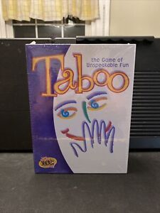 Taboo The Game of Unspeakable Fun New Sealed 2000 Hasbro Brand New Sealed