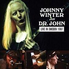 Live in Sweden 1987 by Dr. John/Johnny Winter (Vinyl, Apr-2016, MVD Visual)