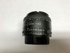 Nikon NIKKOR 50mm F/1.8D Lens for Nikon DSLR Cameras