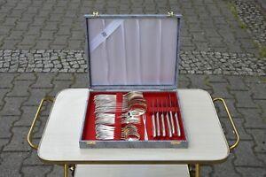 TRUE VINTAGE 31 WMF BESTECK WIEN Friodur versilbert CUTLERY silverplated 30 pies