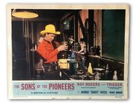 """THE SONS OF THE PIONEERS"" ORIGINAL 11X14 AUTHENTIC LOBBY CARD PHOTO 1955 #2 ROY"