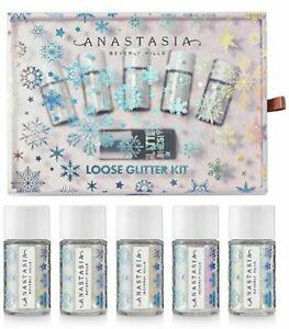 NIB Anastasia Beverly Hills 6-Pc. Holiday Loose Glitter Set