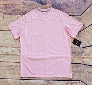 Nike Boys' Dri-Fit Legend Training Short Sleeve Tee – Light Pink / XL