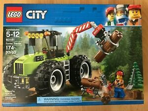 LEGO CITY 60181 Forest Tractor NISB New & Sealed