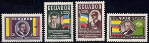 1958 Ecuador SC# 638-41-Visit: Colombia's Foreign Minister-US Vice Pr. Nixon-M-H